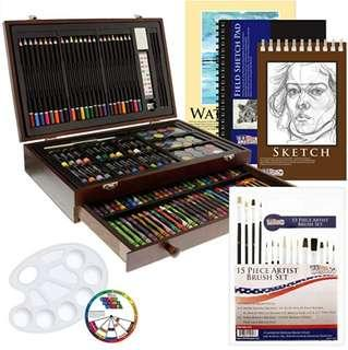 Waterpainting and crayon full kit (brand new)