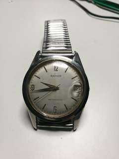 1960s Rare  German ANKER Automatic vintage stainless steel watch