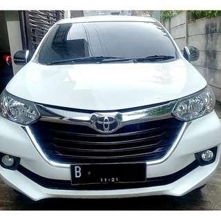 Toyota Avanza 2016 1.3 G AT 2016 Putih White - TINGGAL PAKAI
