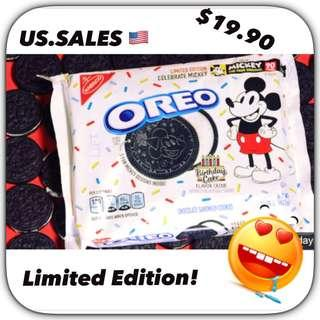 Celebrate with Mickey - Limited edition from 🇺🇸 (Birthday Cake Flavor)