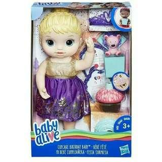Baby Alive Cupcake Birthday Party