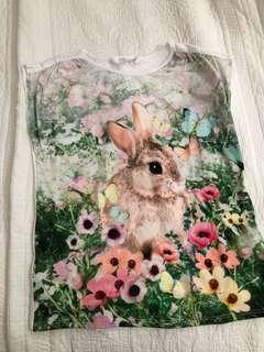 H&M Bunny Sleeveless Top