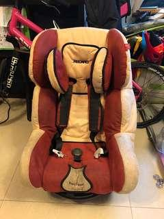Recaro car seat 9mth - 4yrs