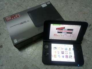 2nd NINTENDO 3DS XL GOOD CONDITION (MODDED)