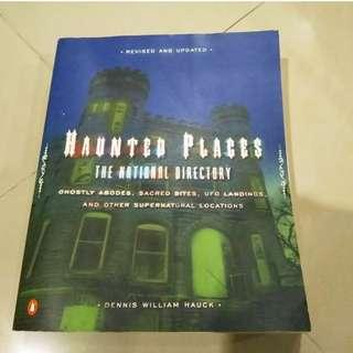 Haunted places national guide USA