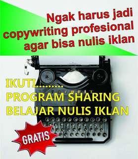 Belajar Gratis Tetap Berkualitas !!!  http://gratisbelajar.online  BELAJAR NULIS IKLAN YANG MENGHASILKAN TRANSFERAN   MAU ?? Gratis 100%