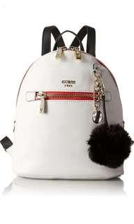 Guess White Backpack 白色/背包/背囊/ Marc Jacobs/ Michael Kors