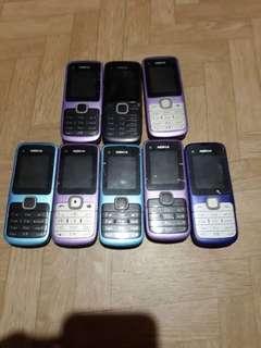 auth NOKIA c1 phones