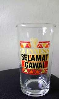 Guinness's Selamat Hari Gawai Themed Water Glass