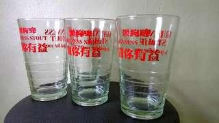 "Guinness's Stout ""Is Good For You""/""对你有益"" Water Glass  (4 units)"