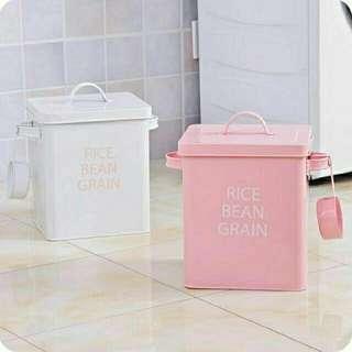 🚚 白-時尚儲物收納桶