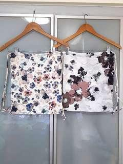 Pretty floral bags brand new