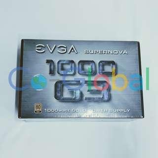 全新New EVGA Supernova 1000 G3, 80 Plus Gold 1000W, Fully Modular, 220-G3-1000-X1 DIY PC PSU 機箱電源 砌機 Get ready for 2080 and 2080Ti