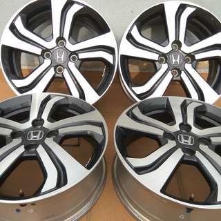 """Honda City Original 16"""" V-Spec Rim (Highest Spec)"""