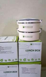 Nutrilite's Stainless Steel Lunch Box Set (4 sets)