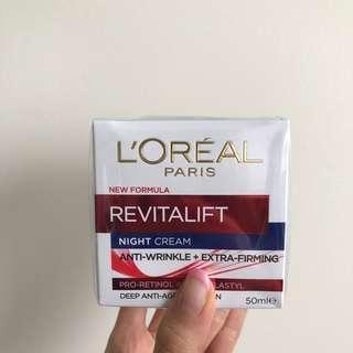 L'oreal Revitalift Rich Night Cream