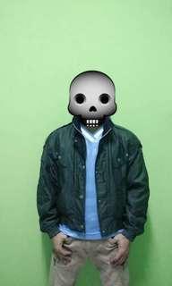 Yamaha bomber jacket with hoodie