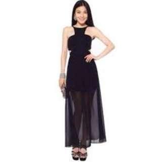 [pending]Love Bonito Marcelyn maxi dress L