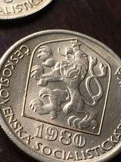 Czechoslovakian coin