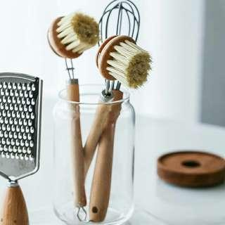 Wooden Eco Dish Brushes
