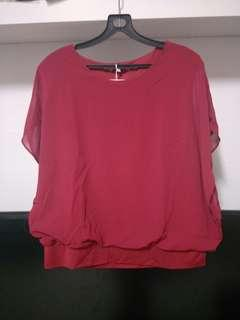 NEW! Red Butterfly Top