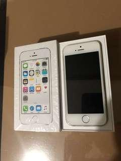 iPhone 5s Silver/White 16gb