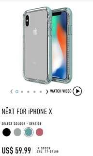 Lifeproof Next for iPhone X casing / iPhone XS casing