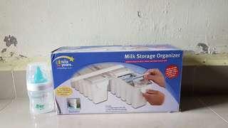 Breastmilk Storage Organizer & Breastflow 5oz