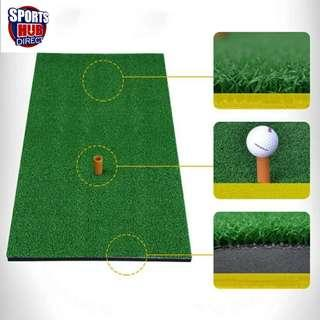 🚚 Golf Mat 30cm x 60cm Residential Practice Hitting Mat with Rubber Tee Holder