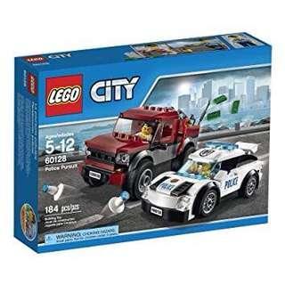 Lego city 60128 police chase car