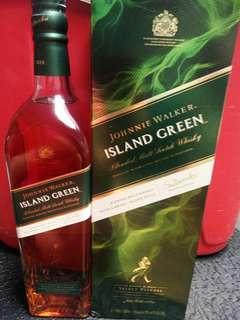 Johnnie Walker Island Green Whisky 1L - Rare