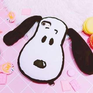 史努比 Snoopy 大頭 矽膠全包軟殻 保護殻 手機套 iPhone 6 / 6s case