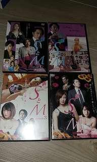 日版DVD- 新S とM (1-4集)(中古貨品。