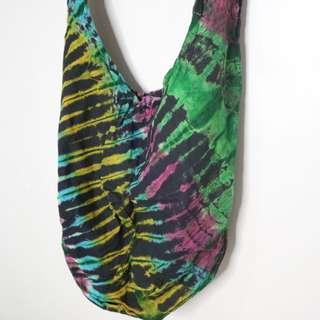 Tie-Dyed Fabric Bags