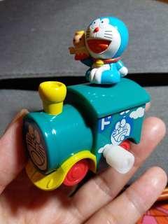 (包平郵) 多拉A夢 小火車