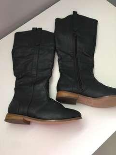 ⚫️Dark Grey Boots