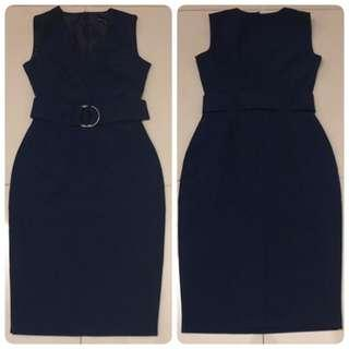 Dorothy Perkins Dress (Navy)