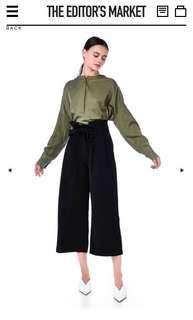 The Editor's Market Nereo Pleated Waist Pants