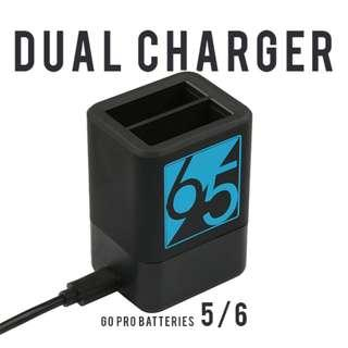 Dual charger for GoPro 5/ GoPro 6