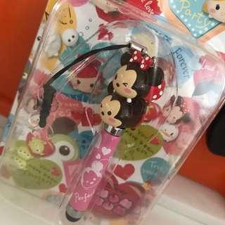 BN Disney Tsum Tsum stylus mobile strap