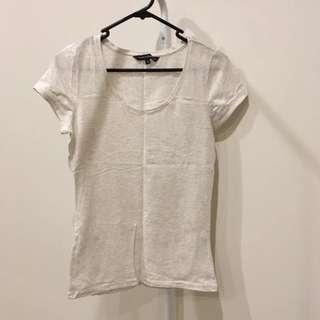 French Connection Oatmeal Shirt (Aus Size XS)