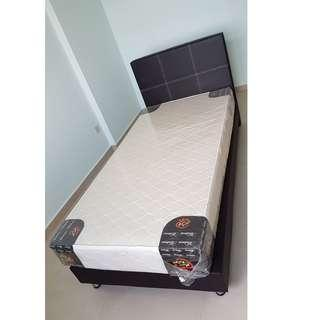 Brand new Single size bed Frame and Mattress