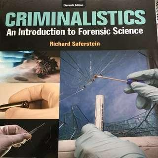 UTM FSC239: Criminalistics 11th Edition Textbook