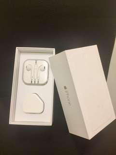 iPhone 6 Plus Box with EarPods & Adapter