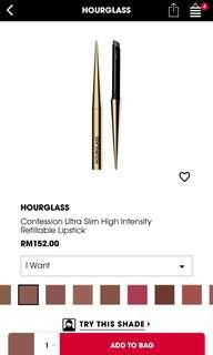 Hourglass lipstick I want #midsep50
