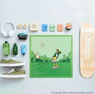 Innisfree Eco-Hankie Green