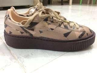 Puma x Naturel Cheetah Platform Shoes