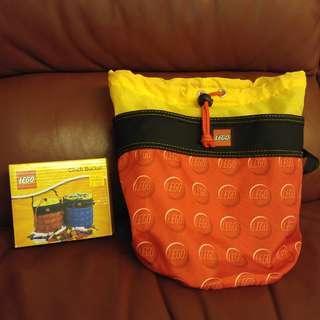 Lego收納袋(紅色)