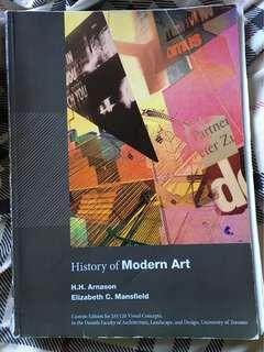 JAV120 - History of Modern Art Custom Edition and Believing Is Seeing