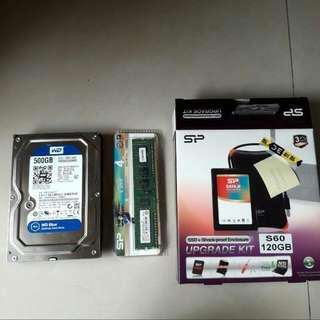 500g硬碟+2g DDR3